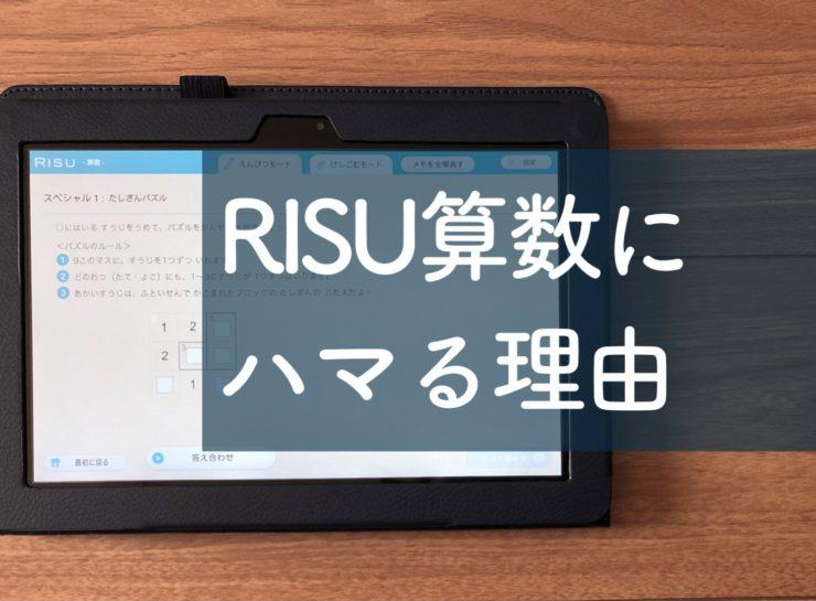 RISU算数にハマる理由 レビュー